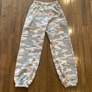 Kings Of Cole Leopard Sweatpants Size Small